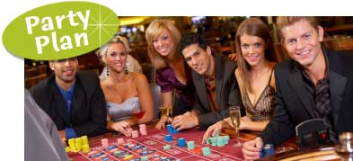 Casino theme birthday party ideas. How to plan a casino birthday. Casion birthday ideas, party supplies and decorations.