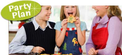 Christmas activities for kids. Kids Christmas cookie party.