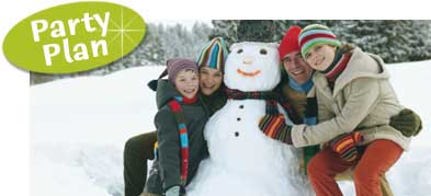 Frosty the Snowman Theme Party. Snowman decorating ideas, invitations and party favors.