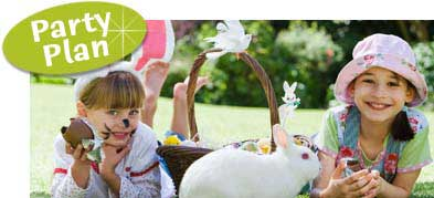 Easter Bunny Theme Party Ideas. Bunny theme party.