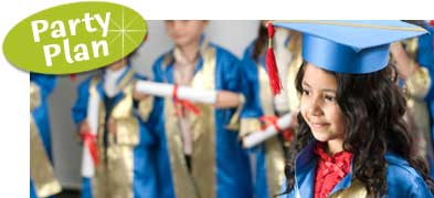 Preschool graduation party ideas. Help planning your preschool grad party.