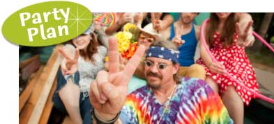 Woodstock Birthday Party. 1960s Theme Birthday Party. Hippie theme with ideas, party supplies and decorations.