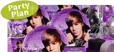 Justin Bieber Theme Birthday Party. Hannah Montana Party Supplies. Great ideas for invitations, favors and party supplies.