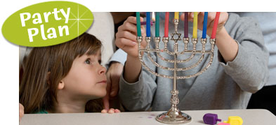 Chanukah Theme Party. Hannukah Theme Party.  Dreidle Theme Party