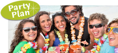 Hawaiian luau party ideas. Ideas for hawaiian luau