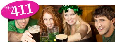 Saint Patricks Day Food and Drink Ideas.  St. Pats Libations.