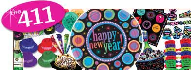 New Years Party Supplies. 2012 Party Supplies. New Years Eve Supplies.