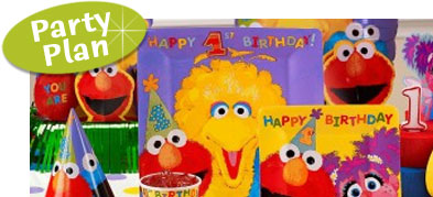 Sesame Street 1st Birthday Party 1 Year Old Ideas Invitations