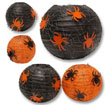 black and orange lanterns