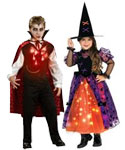 Light up Halloween costumes