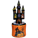 Haunted House Inflatable Cooler & Ring Toss