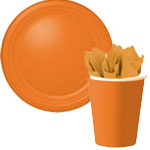 Orange Halloween Party Supplies