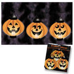 Pumpkin lantern set