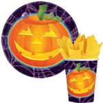 Halloween Playful Pumpkins Paper Goods