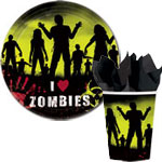 Beware Zombies Halloween Deluxe Party Kit