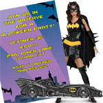 batman theme halloween party