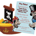 halloween pirate theme party