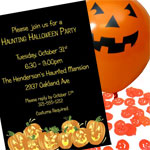 Jack o lantern pumpkins theme party