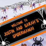 spider theme Halloween Party