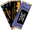 halloween party favors, candy bar wrappers