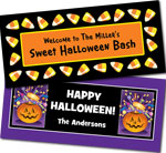 Halloween banners for kids parties