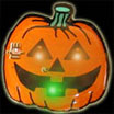 Pumpkin light up pins