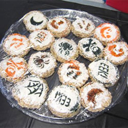 Rice treats for Halloween