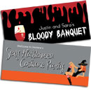 Custom Halloween banners. Halloween party banners and signs.