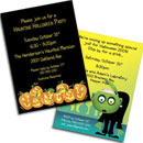 Custom Halloween invitations. Halloween party invitations