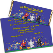 Kids Trick or Treat theme custom party supplies