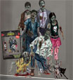Zombie Scene Setter Halloween Decoration