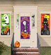 halloween door and window decorations