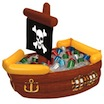 pirate ship cooler