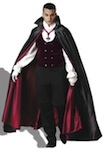 gothic vampire elite collection costume