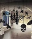 Halloween Ceiling Swirls