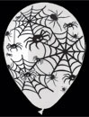 spider web balloons