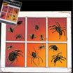 spiders window clings
