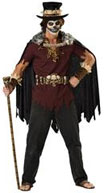 mens halloween voodoo man costume