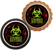 zombie cookies party favors