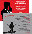 personalized casino royale bond invitation
