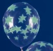 glowing star balloons
