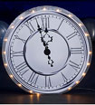 lit clock party decoration