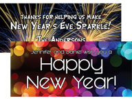 custom banners new years eve party