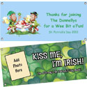 Custom St. Patrick's Day theme banners