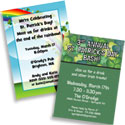 Custom St. Patrick's Day Theme Invitations