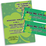 Irish St. Patty's Day Invitations