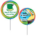 Custom St. Patrick's Day theme lollipops