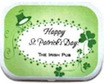 personalized st. pat's day mint in