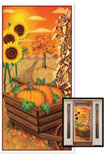 fall door cover for Thanksgiving