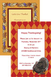 personalized Thankgiving invitations